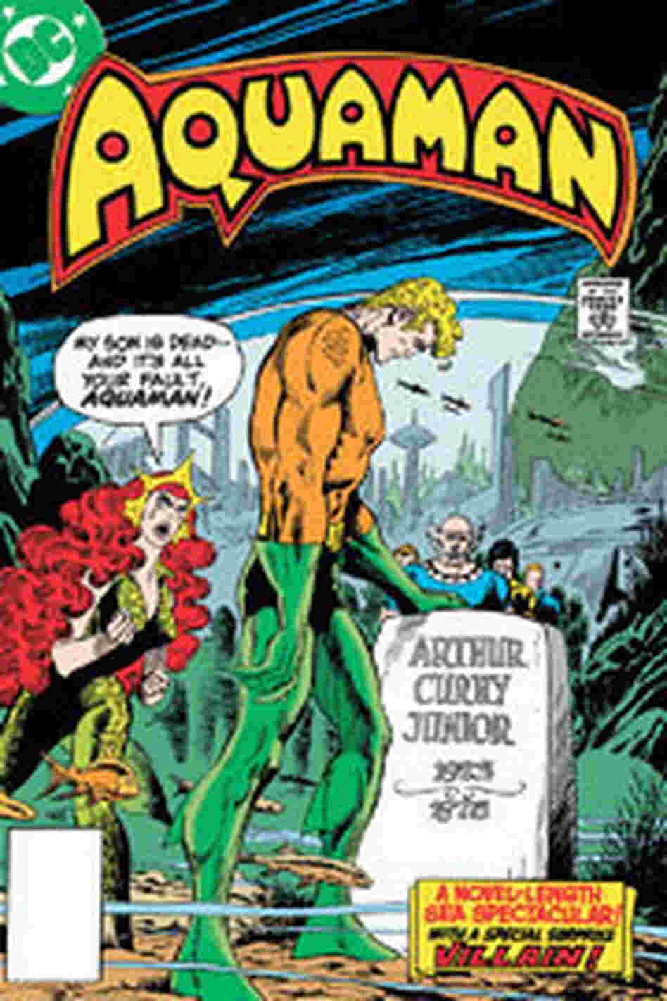 Cover of AQUAMAN: DEATH OF A PRINCE