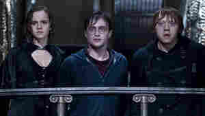 Hallowed Ground: Hermione (Emma Watson), Harry (Daniel Radcliffe) and Ron (Rupert Grint) prepare to meet their destinies at Hogwarts. After eight films, billions of dollars and appearances from seemingly every British thespian, the Harry Potter series has rarely felt so resonant as in its final chapter.
