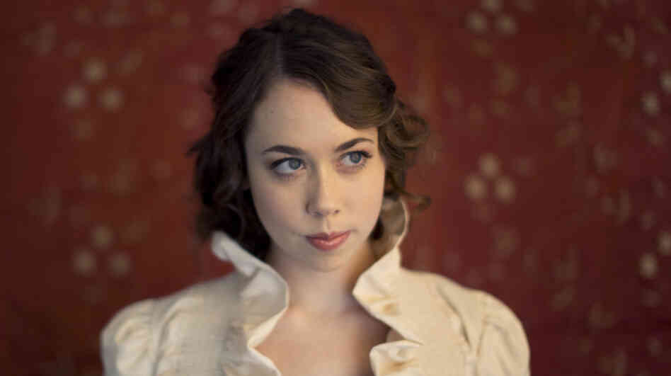 Bluegrass-inspired singer-songwriter Sarah Jarosz performs on today's World Cafe.
