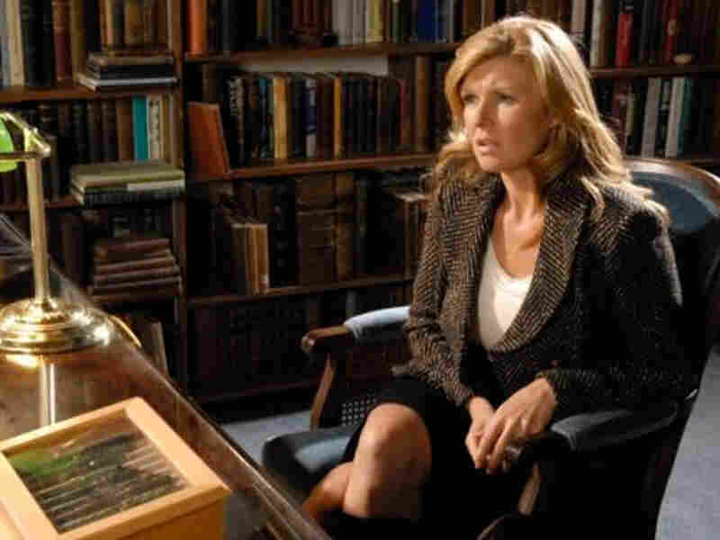 Connie Britton plays Tami Taylor, principal at Dillon High and the wife of the school's football coach. Britton has a degree in Asian studies from Dartmouth College.