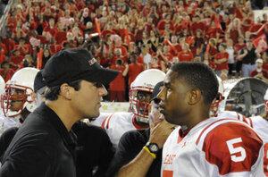 Eric Taylor is both coach and mentor to football star Vince Howard (Michael B. Jordan).