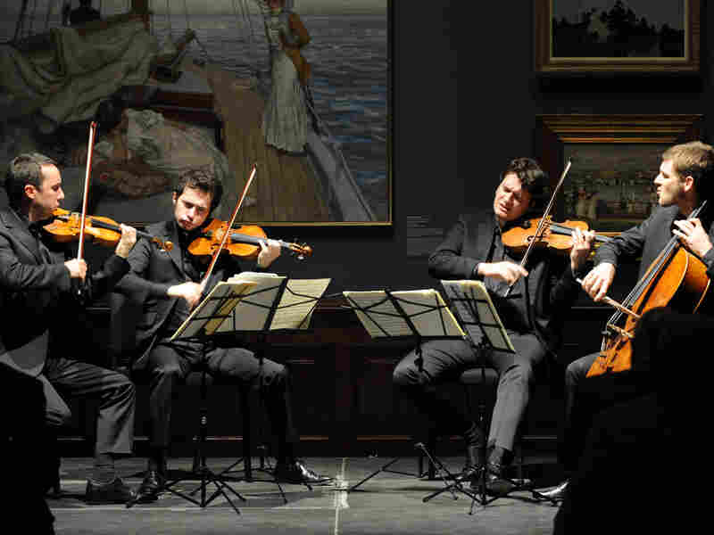 The Ebene String Quartet.
