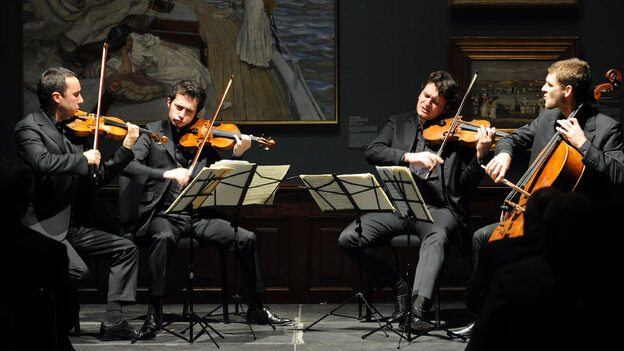 The Ebène Quartet plays everything from surf rock and jazz standards to Debussy and Ravel.