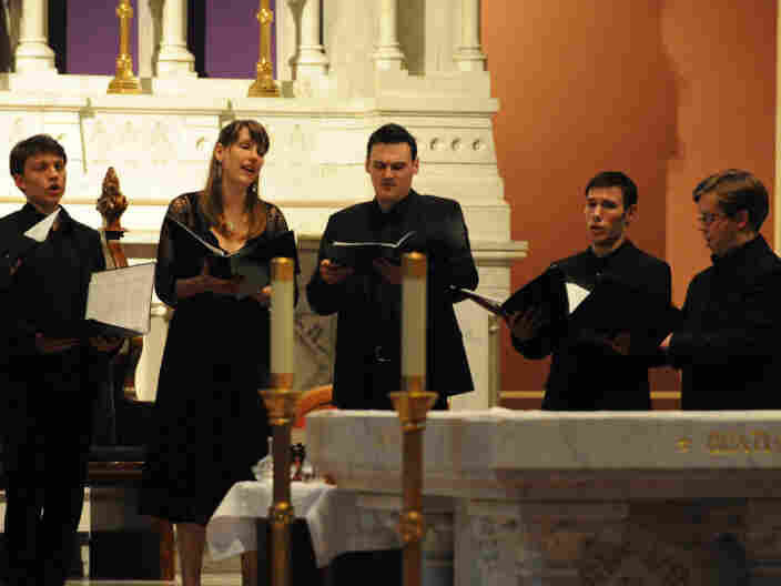 Members of Stile Antico at the Savannah Music Festival 2011.