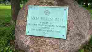 Indiana Plaque Marks A Presidential Tumble