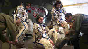 In Russia, Space Ride For U.S. Spurs Nostalgia, Hope