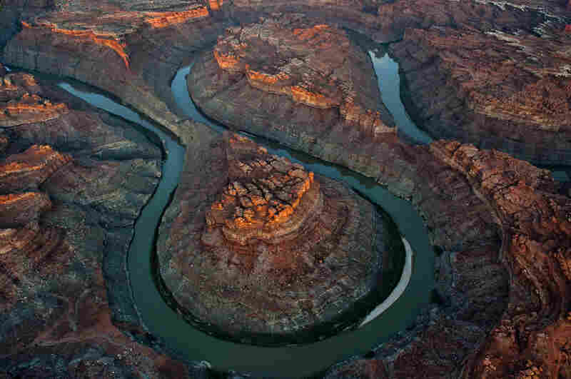 """The Loop"" is located six miles above the Green River confluence in Canyonlands National Park, 50 miles downstream of Moab, Utah."