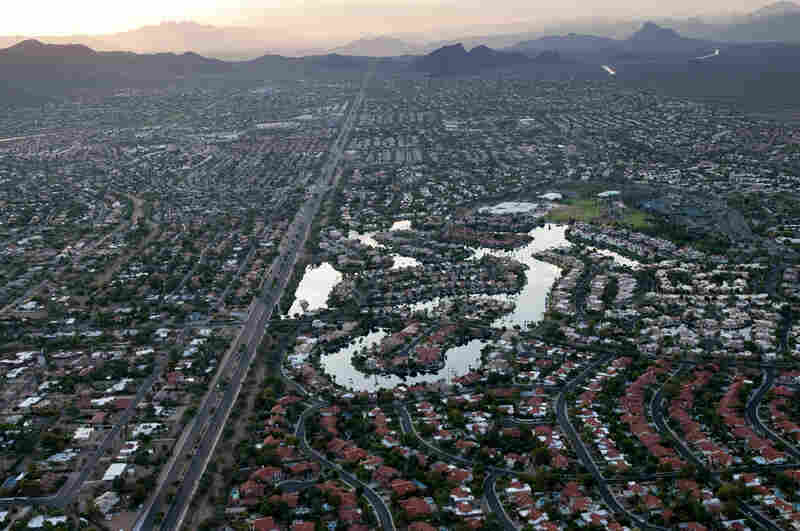Phoenix is the fifth largest city in United States and was built on 1,200 miles of canals built by the Hohokam, a civilization that collapsed 1,000 years ago when its irrigation systems failed. The modern city takes one-third of its water from the distant river, one-third from tributaries and one-third from diminishing groundwater aquifers, according to McBride's book.