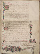 The Latin phrase filius bonacci, in the first line of the Liber Abaci manuscript (above), gave rise to Leonardo da Pisa's modern nickname, Fibonacci. Click Here For A Closer Look