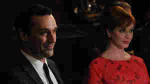 Jon Hamm and Christina Hendricks star in Mad Men, which again did well at the Emmys.