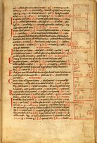 A page from the Liber Abaci manuscript. L