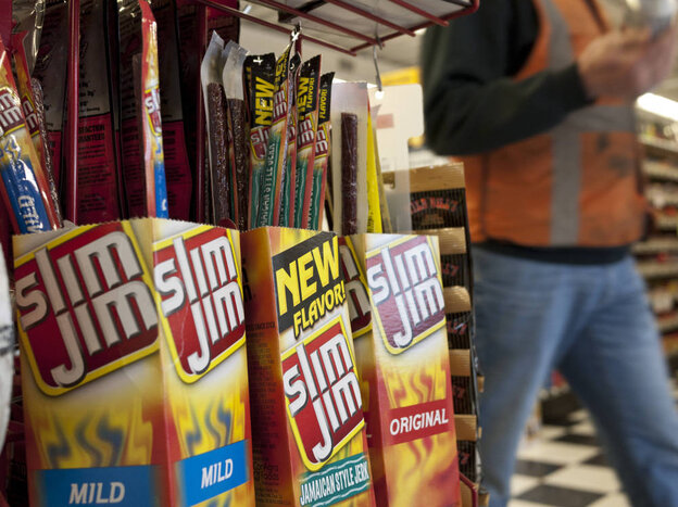 ConAgra, the maker of Slim Jims, says that Sarah Palin might have been th