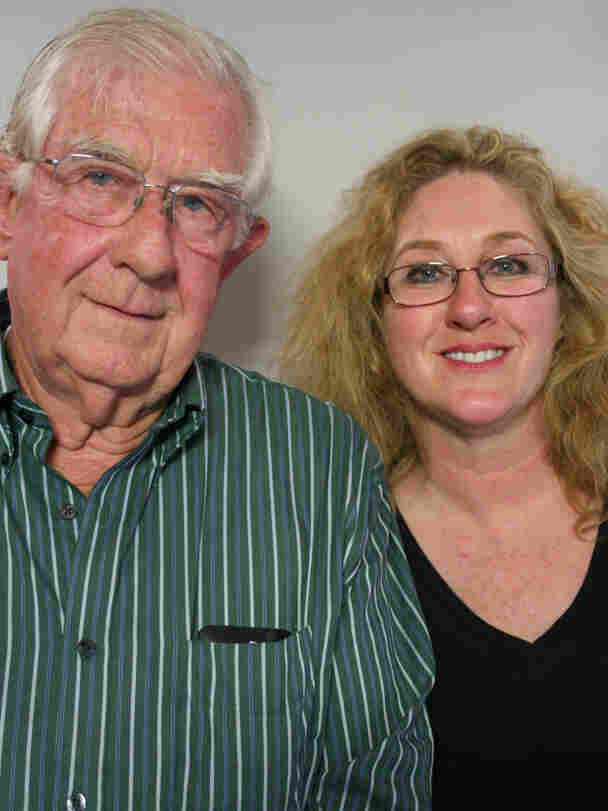 Julian Walker and his daughter Julia Walker Jewell visited StoryCorps in North Carolina.