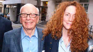 July 10 2011 photo of Rupert Murdoch and his News International chief executive Rebekah Brooks (right) who has resigned, the company confirmed Friday July 15 2011, as they battle a series of crises including accusations of phone hacking and police corruption. Only days earlier Murdoch had expressed his strong support for Brooks.