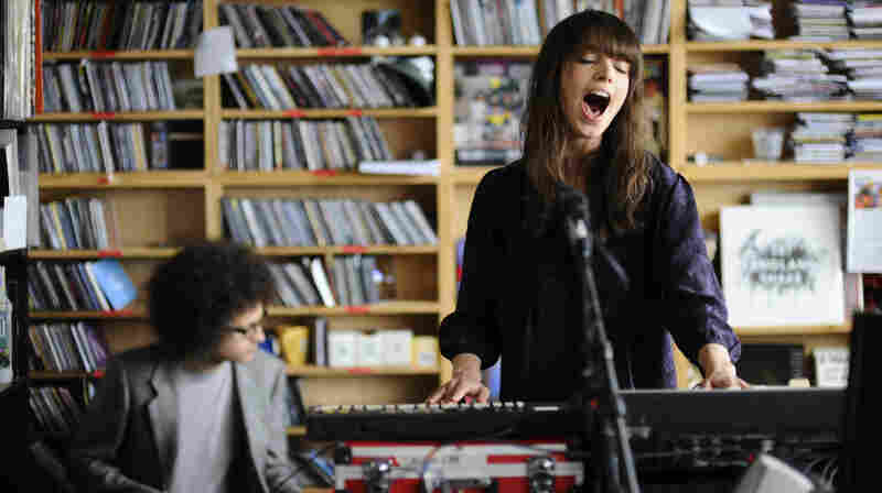CALLmeKat performs a Tiny Desk Concert at the NPR Music offices.