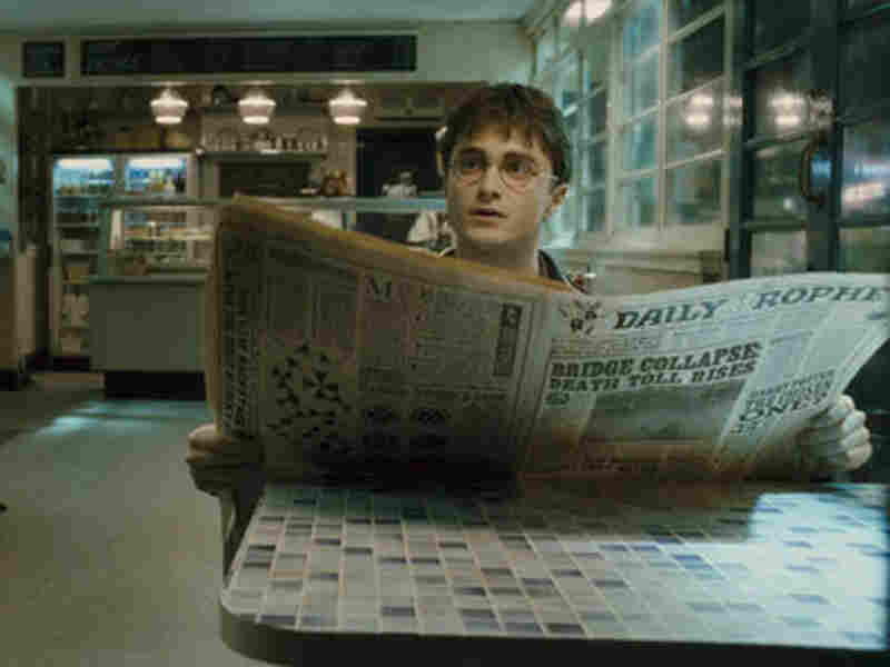 "Even Harry Potter's newspaper, the Daily Prophet, is defenseless when a president summons the press to the White House with an ""accio"" spell."