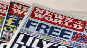 The scandal began at News of the World, which folded last Sunday (July 10, 2011).