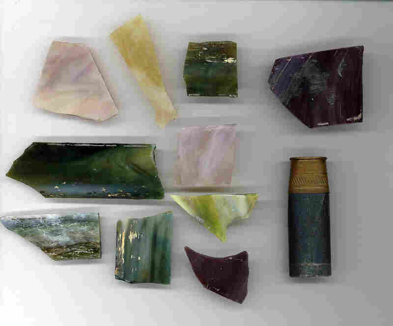 Glass Shards And Shotgun Shell From The 16th Street Baptist Church In Birmingham, Ala.Mulholland gathered these artifacts from the gutter outside the 16th Street Baptist Church in Birmingham, Ala., during the funeral of three of the girls killed in the 1963 bombing.