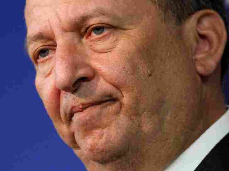 Larry Summers, formerly one of President Obama's top economic advisers, says turning too quickly to austerity could be disastrous for the economy.