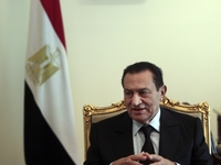 Former Egyptian President Hosni Mubarak was a supporter of Israel and took a hard line against terrorism, but eventually U.S. administrations began to pressure the Egyptian leader over human-rights abuses.