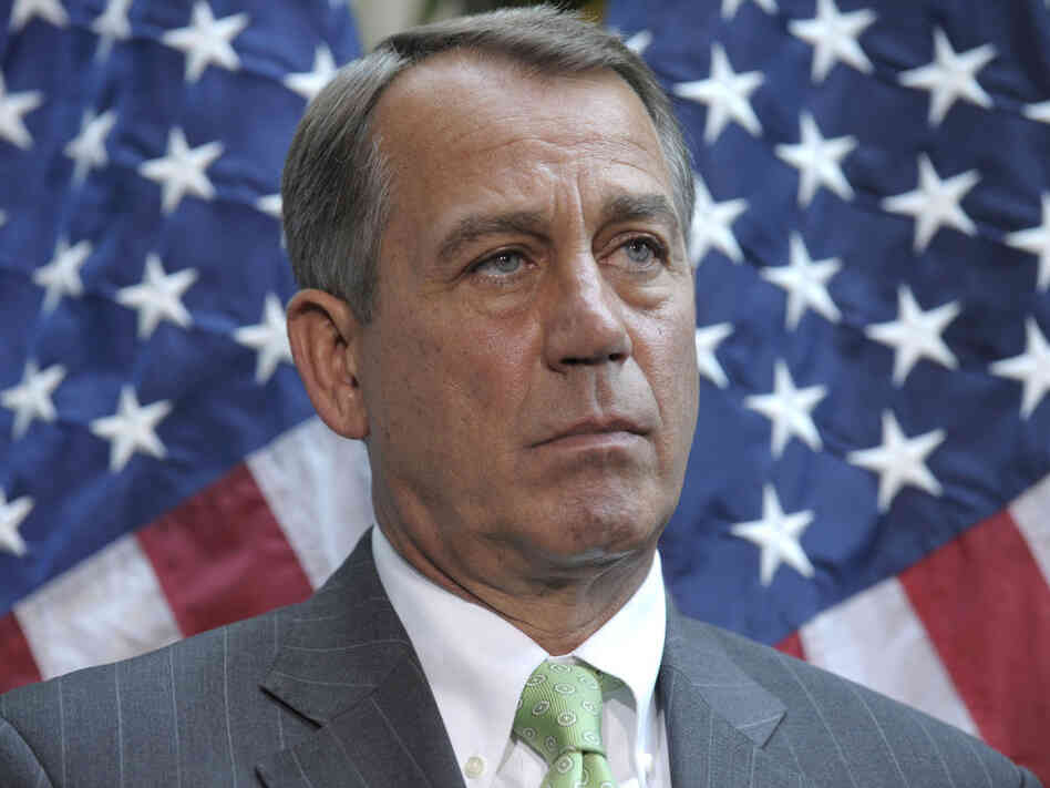 "In a December 2010 60 Minutes interview, House Speaker John Boehner told Leslie Stahl that he ""rejected"" the word compromise."