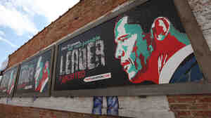 (March 29, 2011 file photo from Chicago): Controversial anti-abortion billboards depicting President Obama. They were sponsored by ThatsAbortion.com.