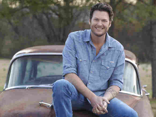 "Blake Shelton has just scored his fourth consecutive No. 1 county hit with ""Honey Bee,"" from Red River Blue."