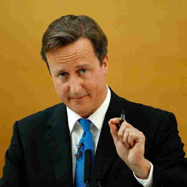 British Prime Minister David Cameron. (July 11, 2011, file photo.)