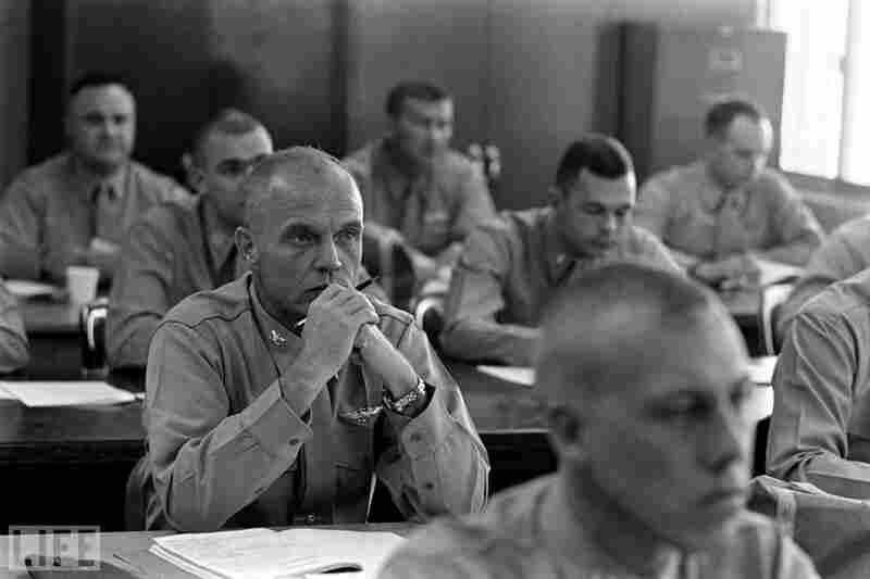 Glenn, Marine Corps Air Station El Toro, in Southern California, 1964.