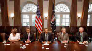 President Obama and congressional leaders