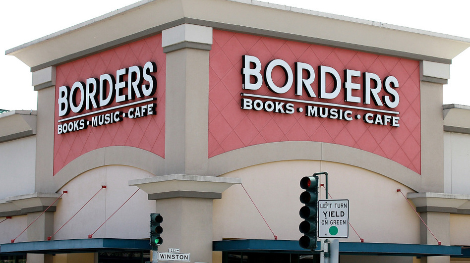 The bookstore chain Borders has announced that it will seek liquidation and close its remaining stores. (Justin Sullivan/Getty Images)