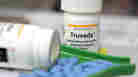 Bottles of antiretroviral drug Truvada, a medicine used in trials that showed a reduction in transmission of HIV between heterosexuals.