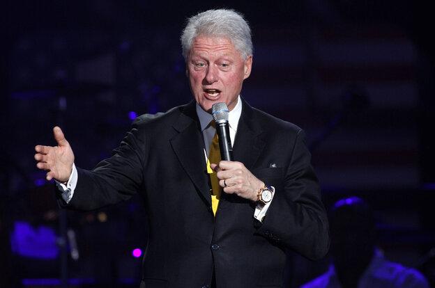 Former President Bill Clinton.