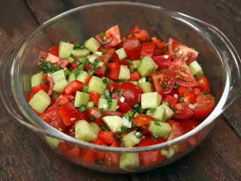 Azarbaychan Salati (Azerbaijan Salad)