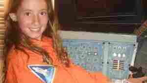 Zoe McElroy, 11, hopes to get to the moon or even Mars.