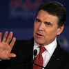 Texas Gov. Rick Perry speaks during the 2011 Republican Leadership Conference in New Orleans on June 18.