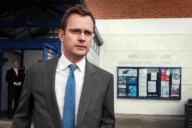 Andy Coulson, former press secretary to Prime Minister Cameron; former editor, News of the World: Coulson followed Brooks as editor of News in 2003. Four years later, he resigned amid the first revelations in the phone-hacking scandal. He was arrested on July 8 in connection with the scandal. Coulson was subsequently released on bail and has publicly denied any wrongdoing.