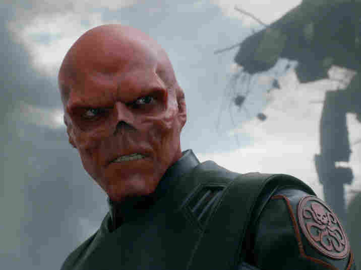 Red Skull (Hugo Weaving), a snarling Nazi villain, is the Axis powers' answer to Captain America. His wonderfully hammy performance is a highlight of the brisk, entertaining film.