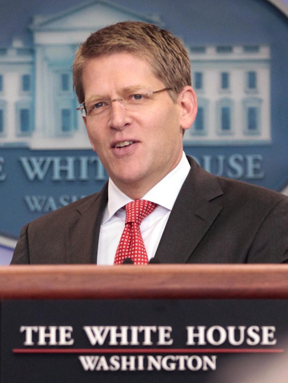 White House Press Secretary Jay Carney. (Pablo Martinez Monsivais/AP)