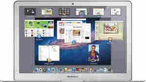 Apple's Mac OS X Lion on a Macbook Air.