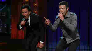"Jimmy Fallon and Justin Timberlake perform ""History Of Rap, Part 2."""