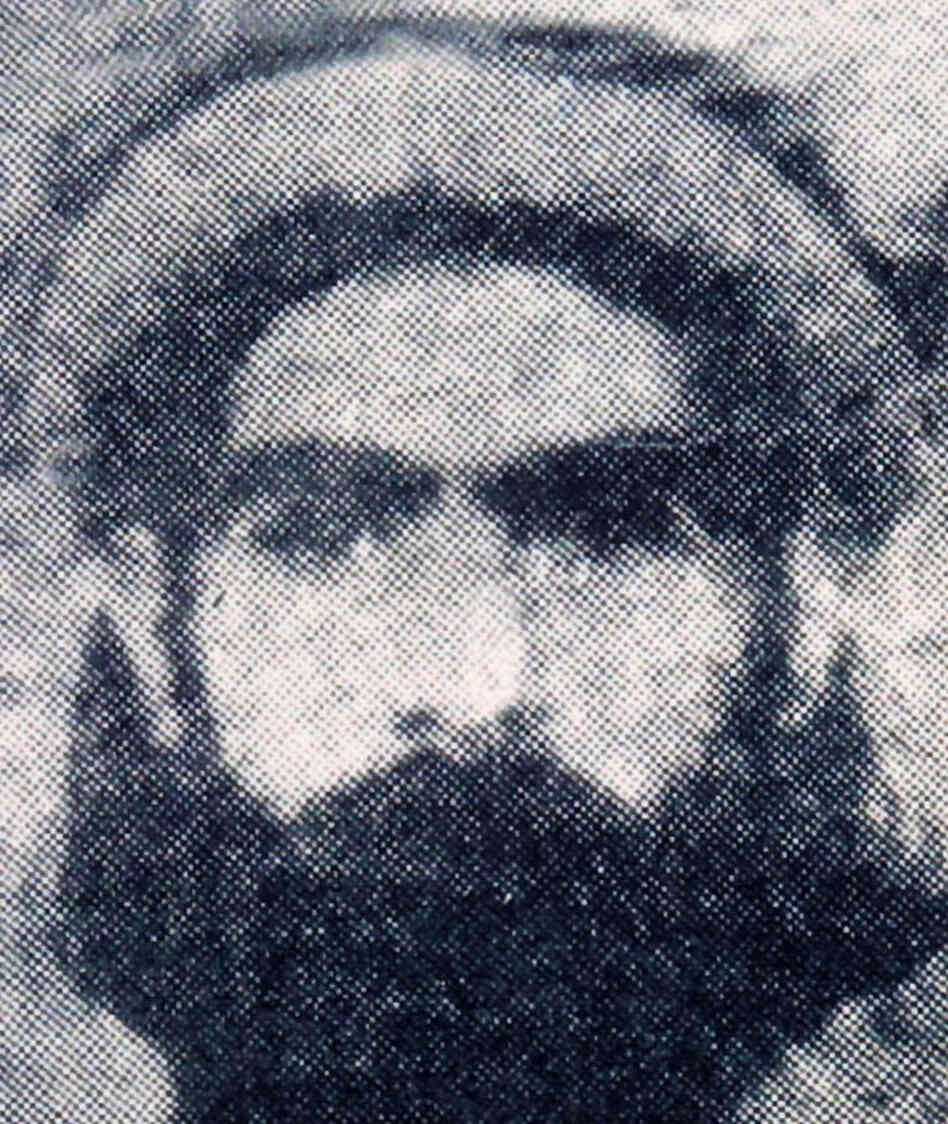 Undated photo reportedly showing Taliban leader Mullah Omar.