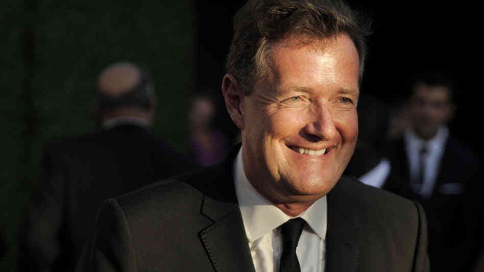 CNN's Piers Morgan arrives at the inaugural BAFTA Brits to Watch 2011 event at the Belasco Theater in Los Angeles.