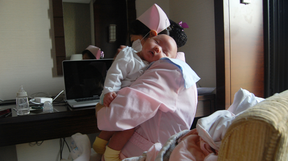 For Chinese Moms, Birth Means 30 Days In Pajamas : NPR