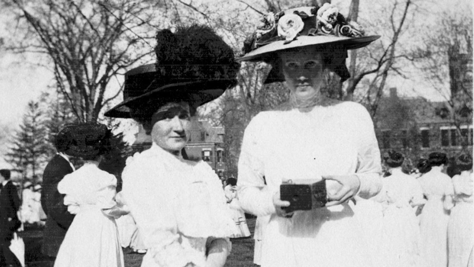 A High Society Sisterhood: In The New Yorker, Dorothy Wickenden writes that at 29 and uninspired by the bachelors of Auburn, N.Y., Dorothy Woodruff (left) and Rosamond Underwood's friends and family largely considered them to be hopeless spinsters. But they were more worried about living a life without adventure or intellectual stimulation.