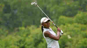 Mariah Stackhouse competes during the first round of the American Junior Golf Association tournament at Steelwood Country Club in Loxley, Ala., June 6-9, 2011.