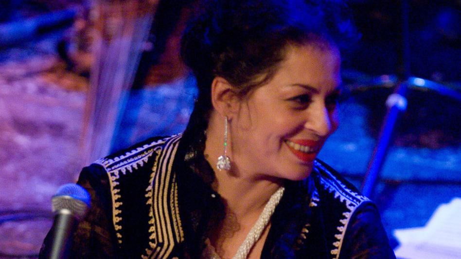"Amina Alaoui's new album is called <em>Arco Iris,</em> Spanish for ""Rainbow."""