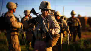 The size of the Marine Corps could be reduced with the withdrawal of troops in Afghanistan and Iraq, as the Pentagon focuses its resources on other types of threats, like cyberattacks.