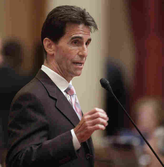 State Sen. Mark Leno, D-San Francisco, introduced the measure requiring public schools to teach the historical contributions of gay Americans. It was approved by the Assembly 49-25 on a party line vote July 5, and was signed into law nine days later.
