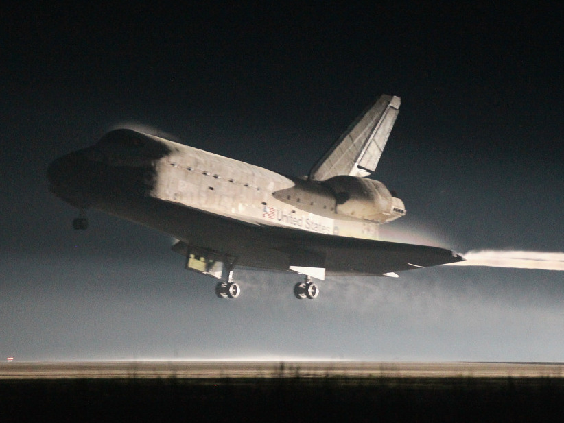 Space Shuttle Lands, Ending 30 Year Era  The Two Way  NPR